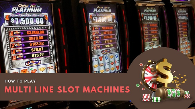 How to play multi-line slot machines?
