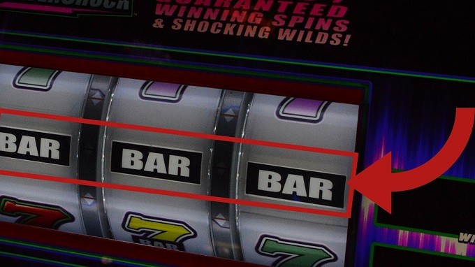 What is a slot machine payline?