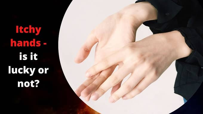 Why do itchy hands mean bad luck in casino superstitions?