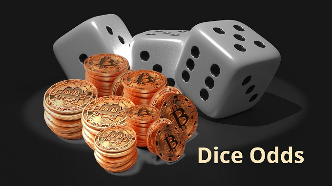 What is the Bitcoin dice odds?