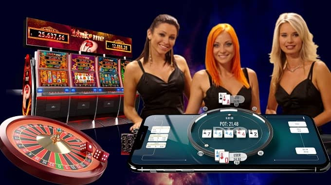 What are the most popular online gambling games today?