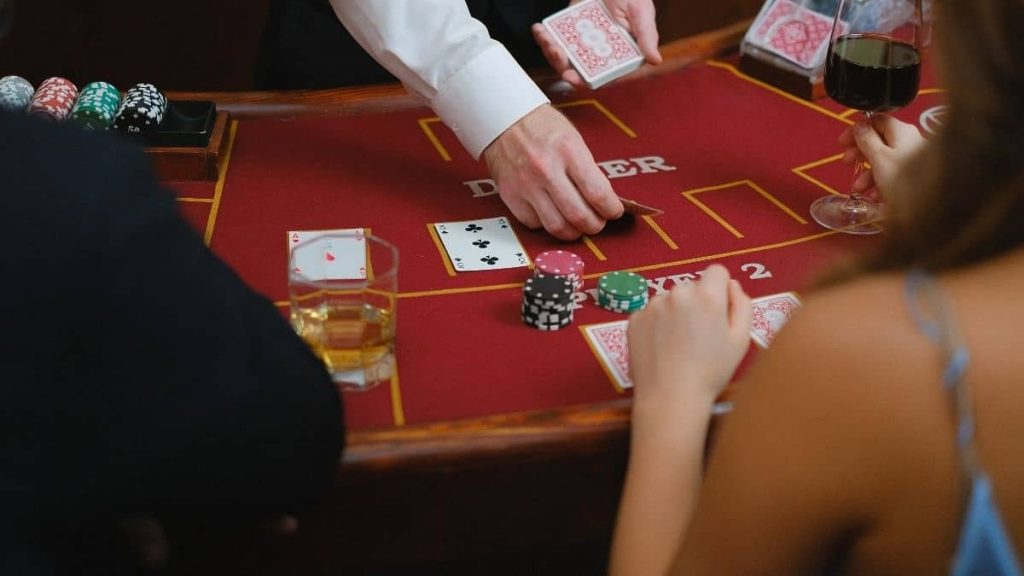 What is not to do in Blackjack?