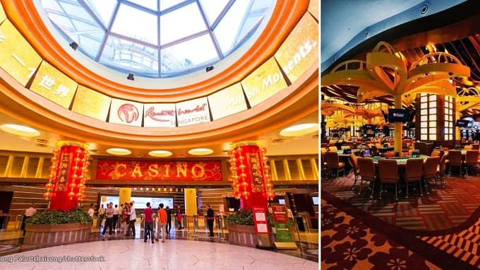 How much is the entry fee in Resorts World?